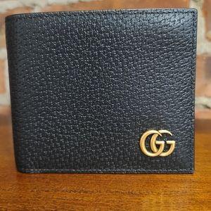 Gucci Gold Brass Wallet- Genuine